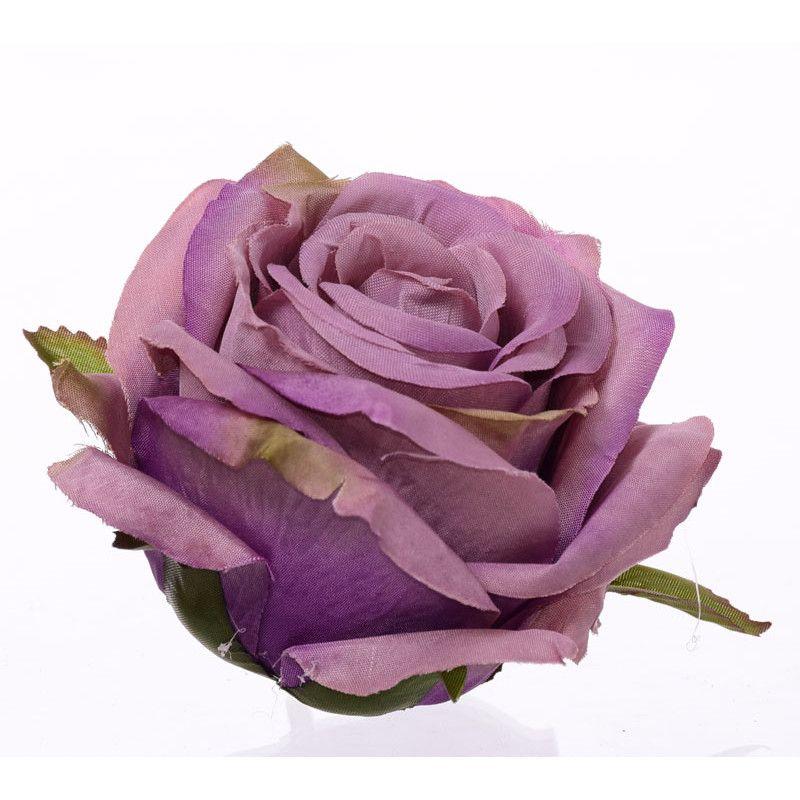 Dark Dusty Purple Rose (5)