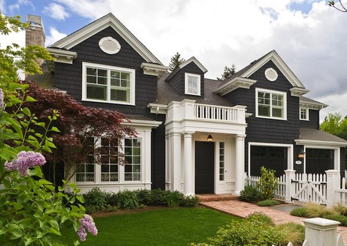 EXTERIOR PAINTING - Curb appeal is important! We'd love to help touch up your home's exterior paint or transform it to a completely new color. Well painted siding, trim, and doors make a big difference and a big impact!