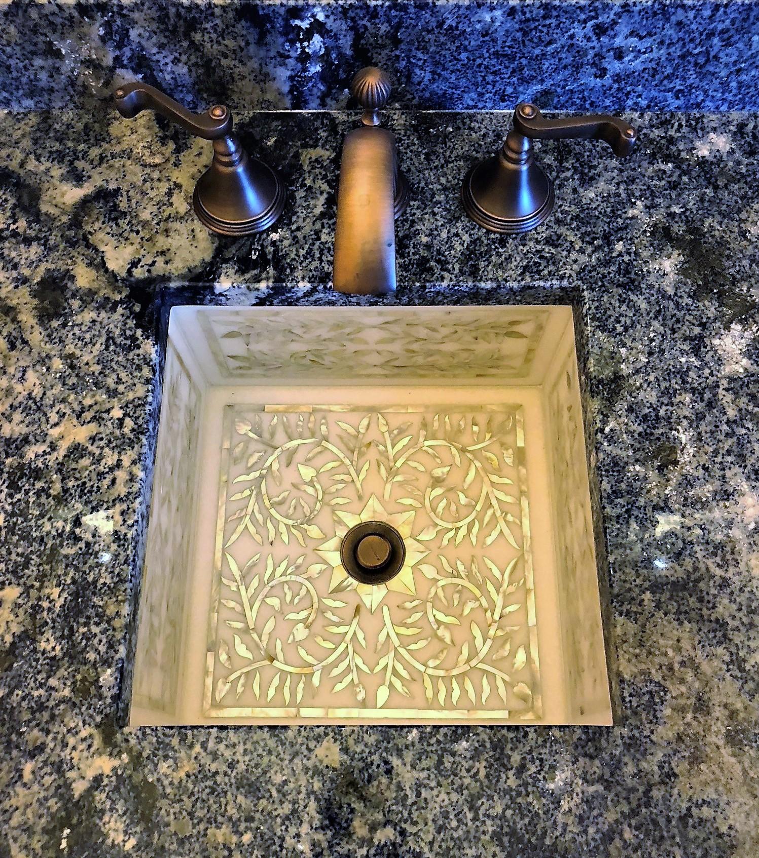 Custom Bathroom Sink