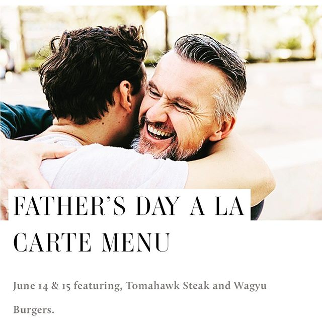 Make his day extra special. Join us on Friday June 14 & 15 for our featured menu. Along with  live entertainment. #fathersday #dinner #torontofood #winelover #foodie #toronto #events #liveentertainment #celebrate
