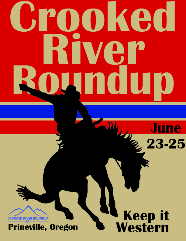 Crooked River Round Up rodeo program cover