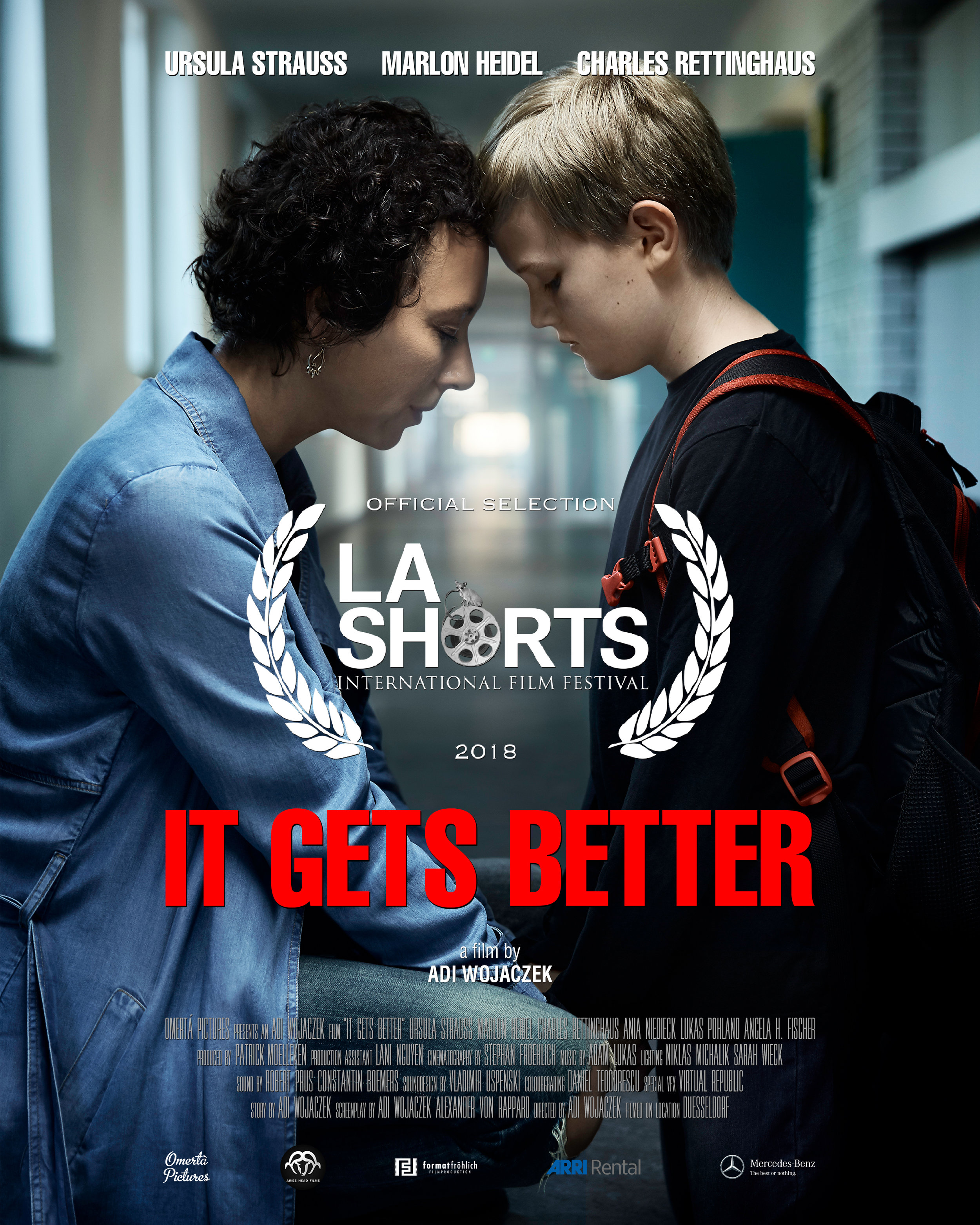 It gets better (2018) - Oscar qualifying Short Film by Adi Wojaczek. Music by Adam Lukas.A film about a mother fighting for her son, who is a victim of Cyberbullying.Winner: Best Drama @LA Shorts International Film FestivalHear the Score on Soundcloud:IT GETS BETTER OST by ADAM LUKAS