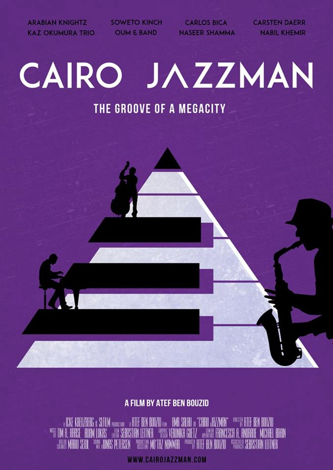 Cairo jazzman (2017) - Feature Documentary by Atef Ben Bouzid.The engaging story of the Cairo Jazz Festival and a portrait of its founder Amr Salah. Dedicated to the Egyptian civil society. A music documentary.Watch the trailer with Adam's Music below: