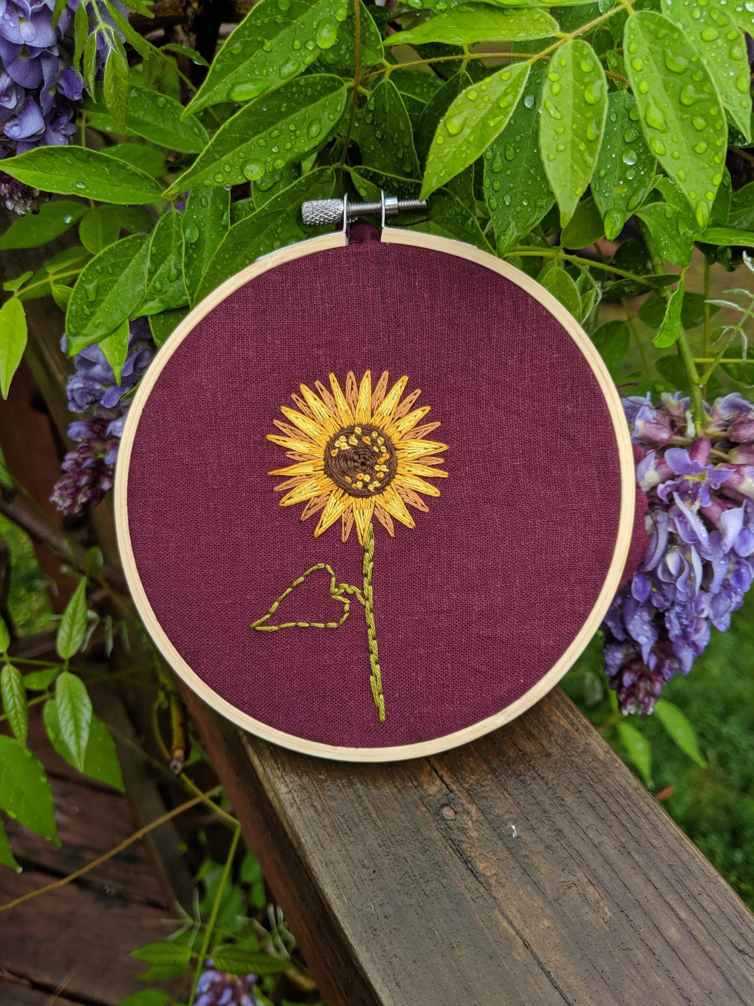 Beginning Embroidery - Instructor: Laura TrethawayDate: Friday, Sept.6, 1:00-4:00 (Half Day Class)Cost: $45Maximum spots: 6No experience necessary.