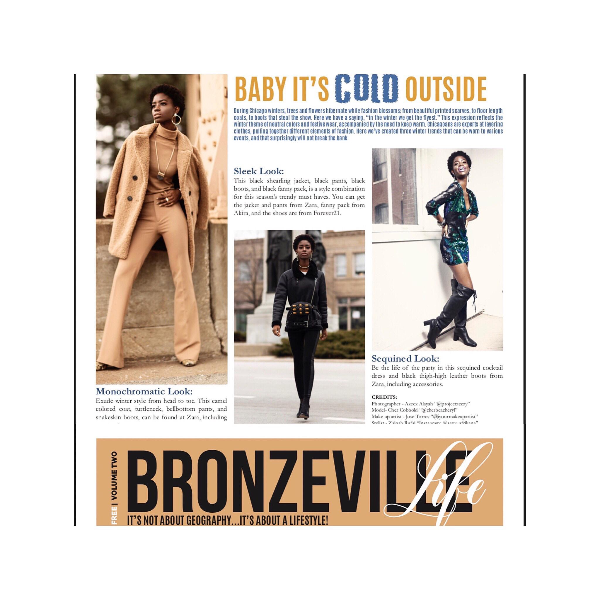 Publication for Bronzeville Magazine | Azeez Alayah