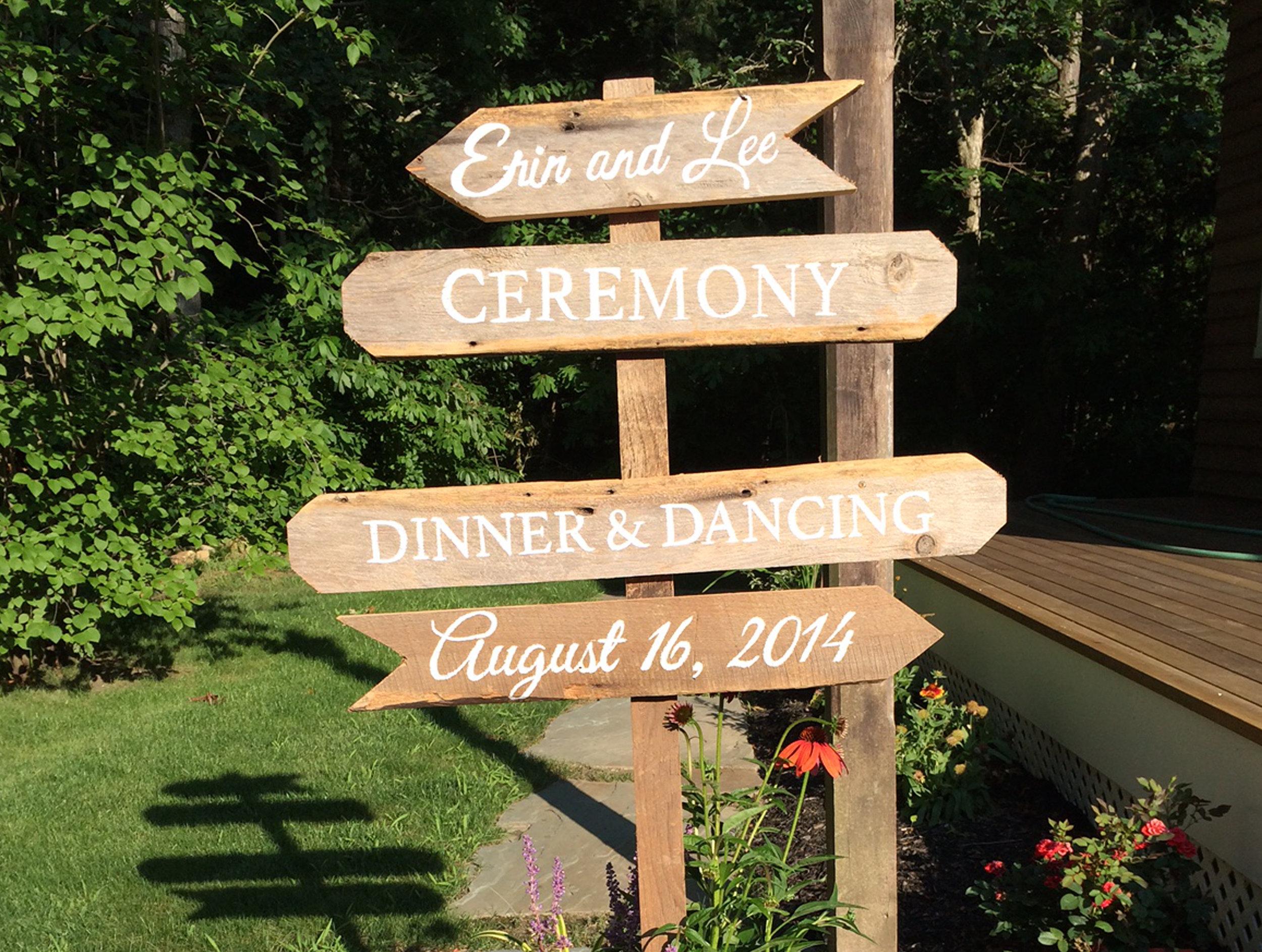 Wedding Signpost