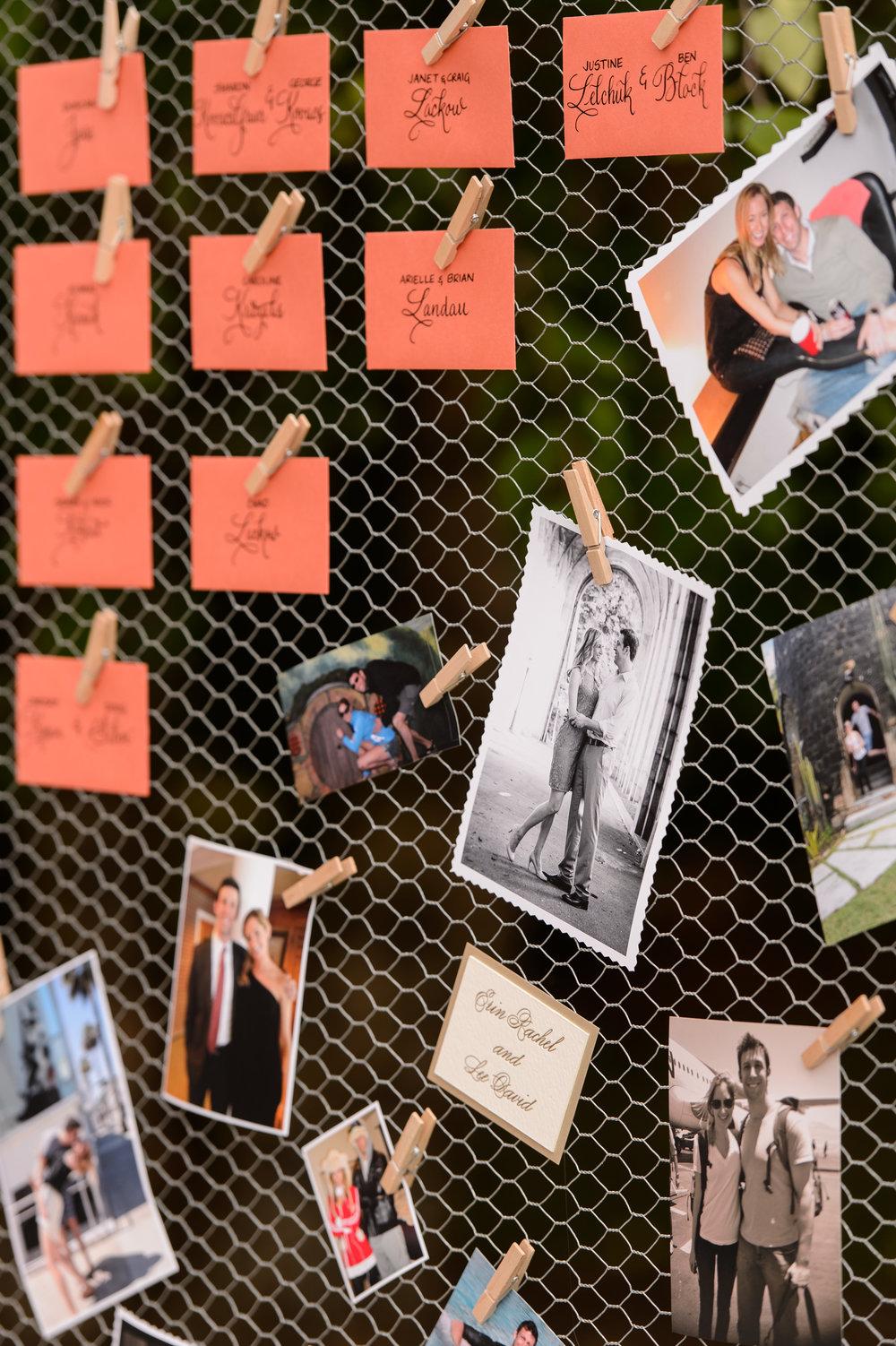 Wedding Photo Board