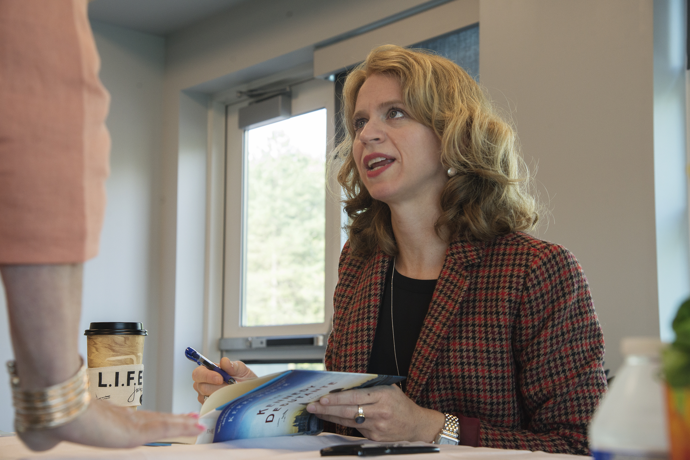Author Kerri Maher, The Kennedy Debutante