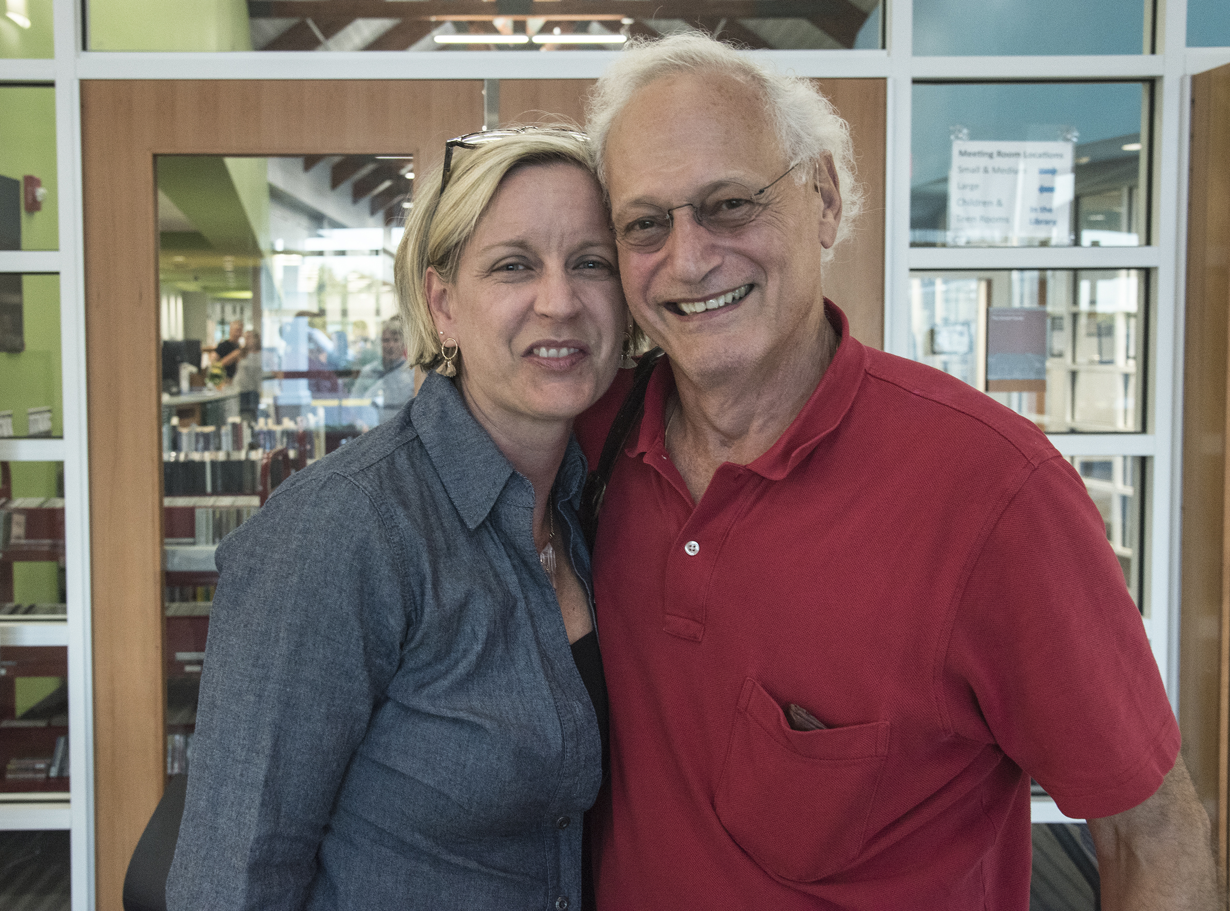 HBF Board Members Susan Kehoe, Browseabout Books and Peter Zoll