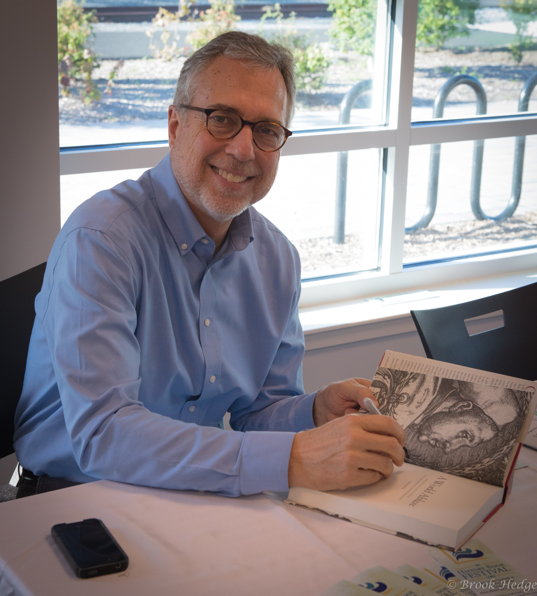 Author Craig Harline, A World Ablaze