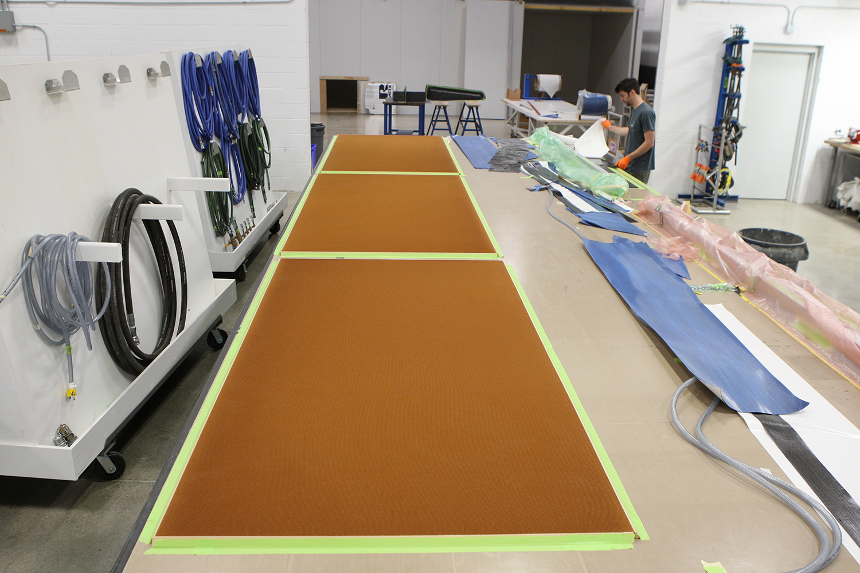Large Panel Laminating Tables