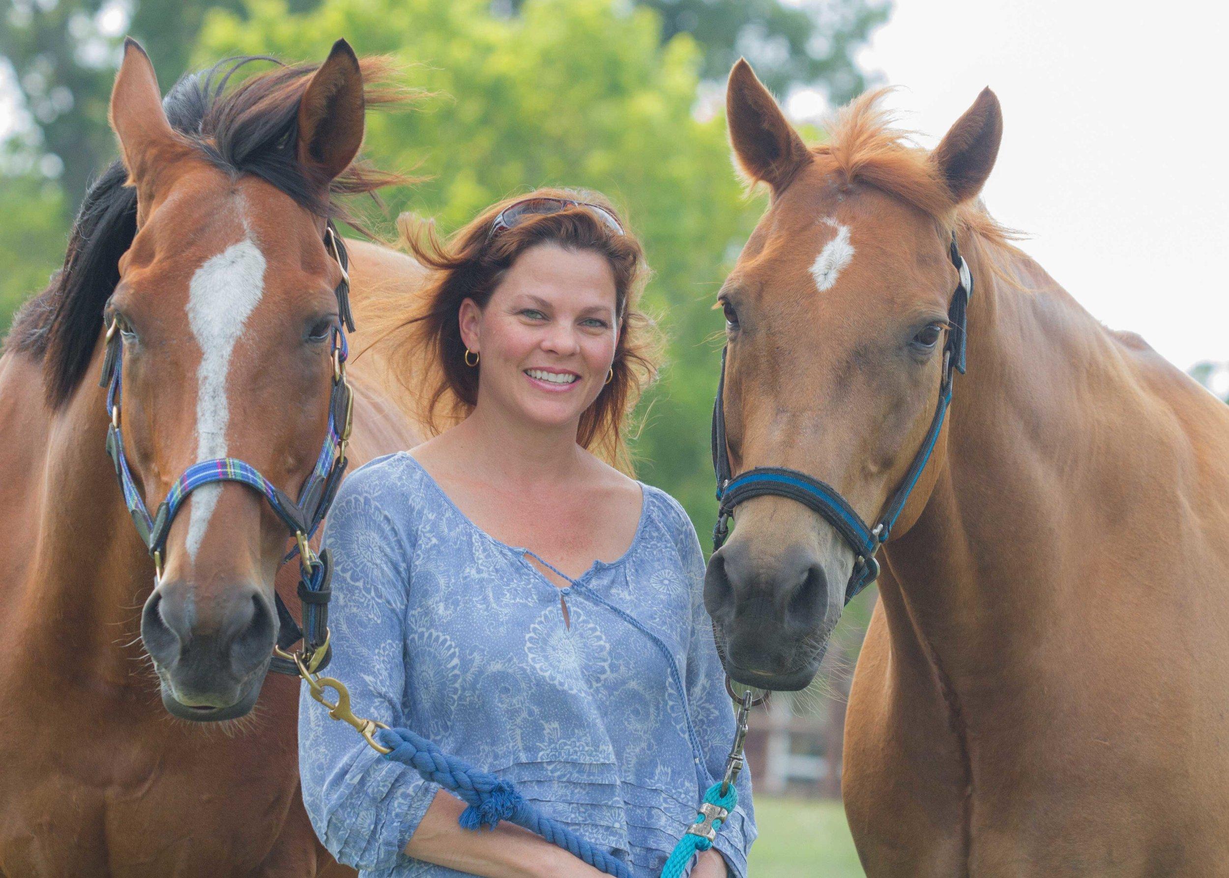 Fay loves horses!