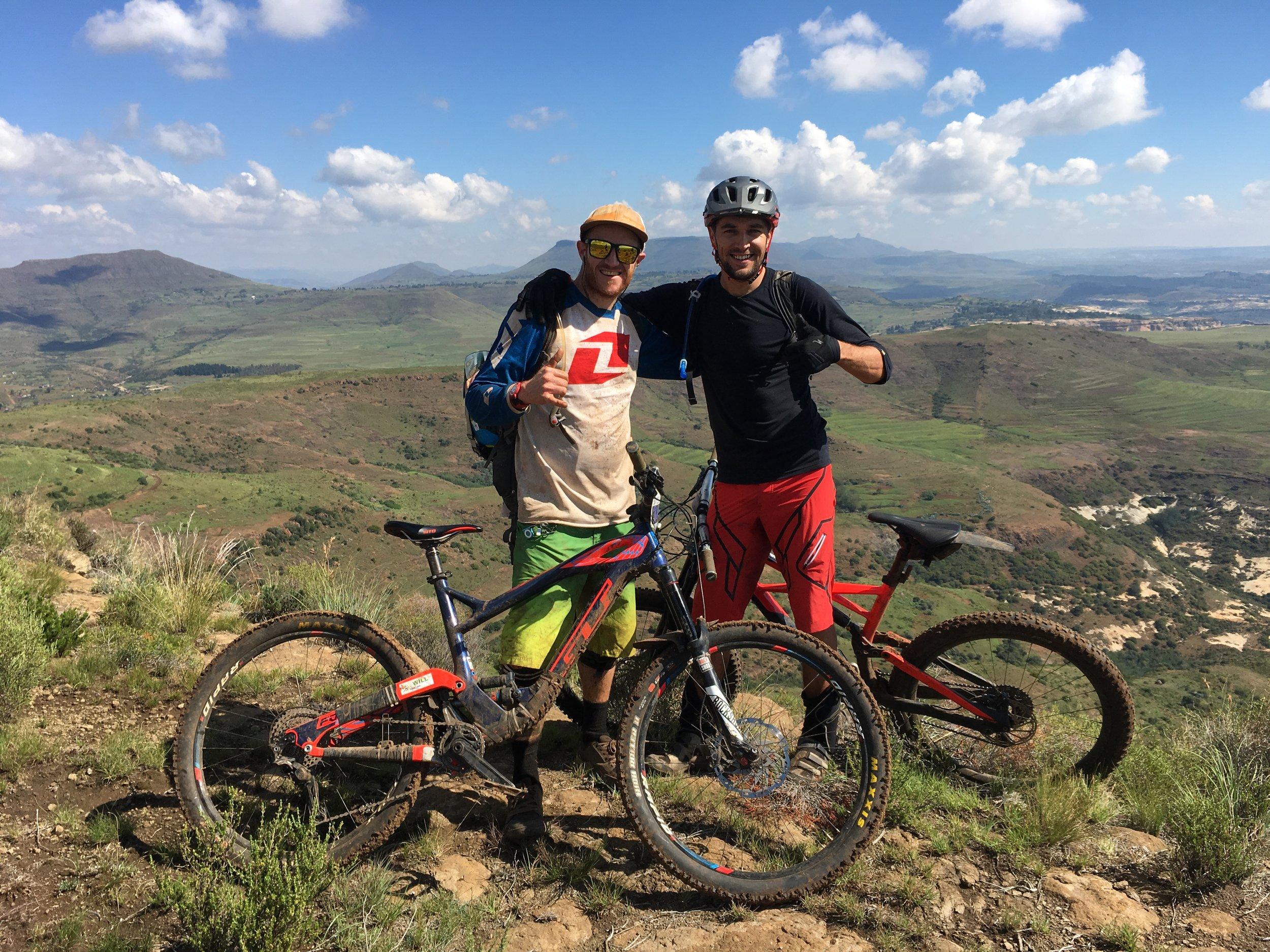 Mid hike-a-bike to 'Love it'.