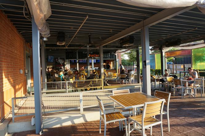 Mueller HEB Cafe Patio