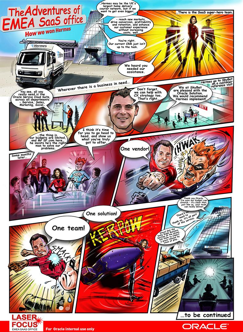 comic book illustrator illustration