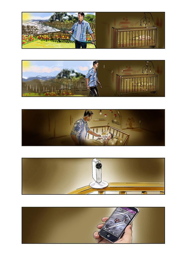 storyboard visualisation artist