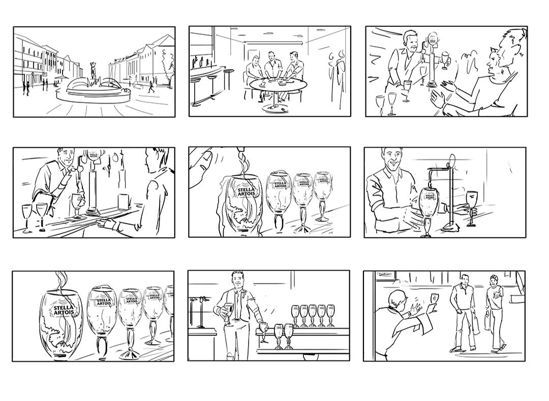 visualisation artist storyboard creator