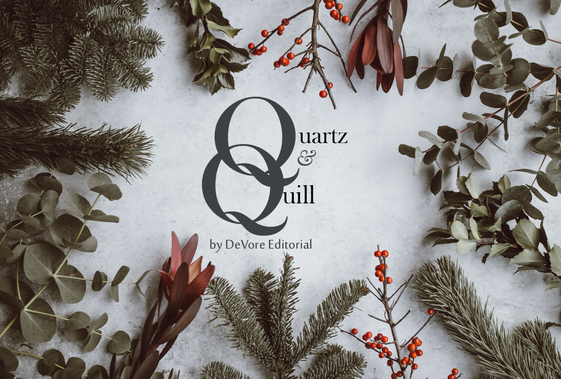 Quartz and Quill is a new quarterly subscription box for the #amediting crowd looking for professional insight, a supportive community, and editing swag to stay motivated.