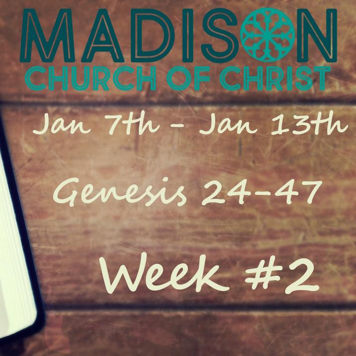Week 2 Study Page Genesis 24 47 Madison Church Of Christ