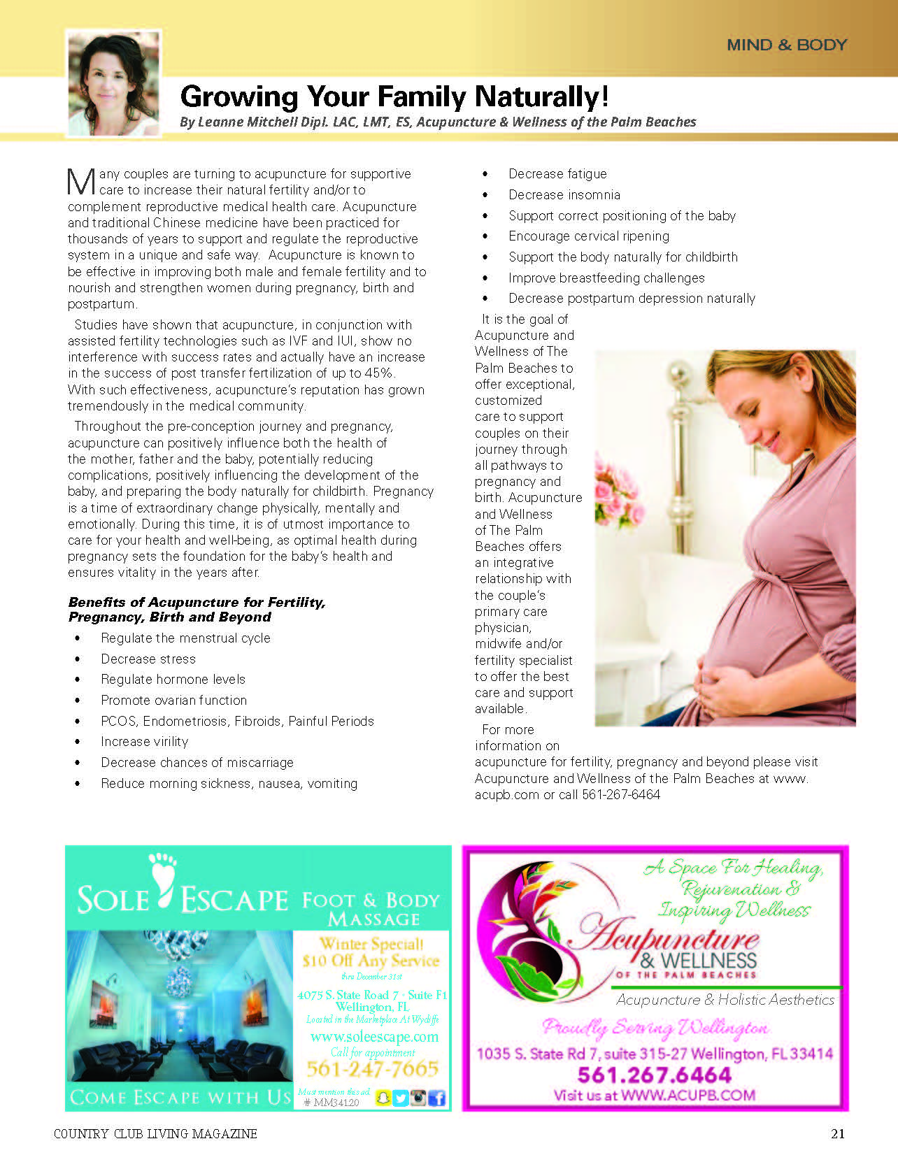 acupuncture and wellness of the palm beaches- growing your family naturally