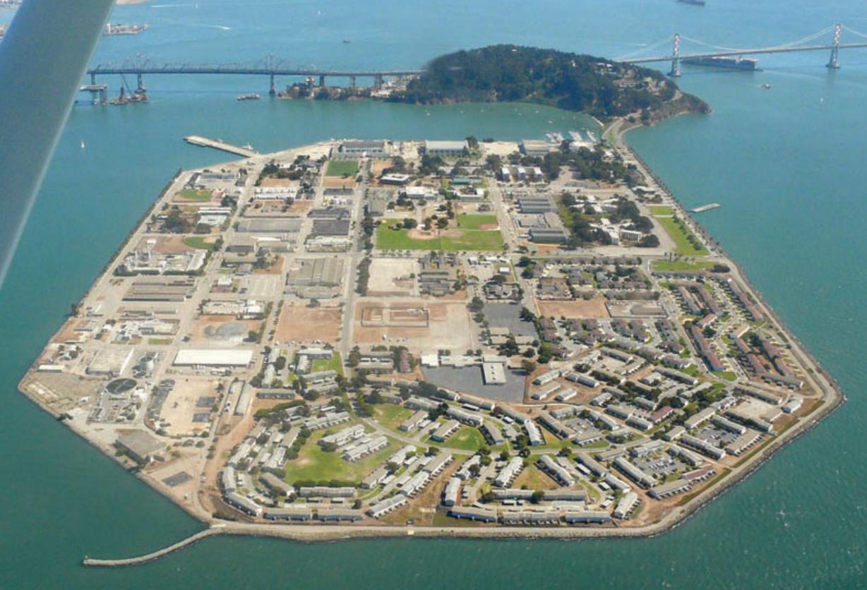Aerial photo of Treasure Island (Biello 2008)