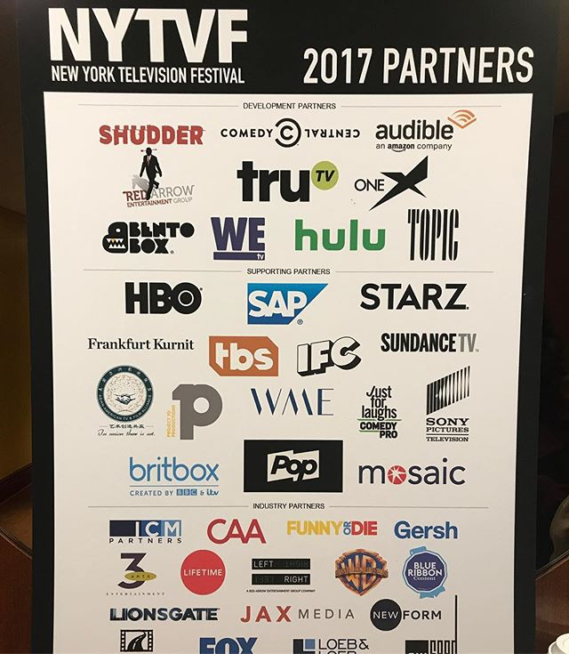 Just a sampling of the amazing networks & people we got to connect with at @nytvf. Great festival, great city!