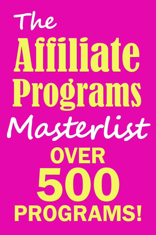 The Affiliate Programs Master List.jpg