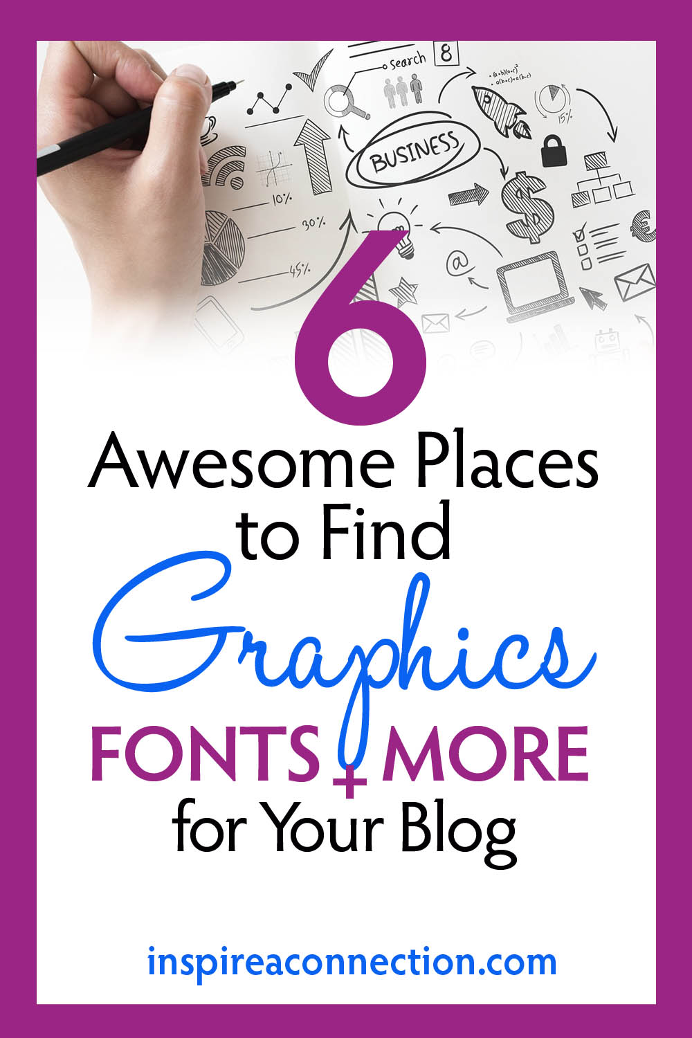 6 Awesome Places to Find Graphics, Fonts and More for your Blog.jpg