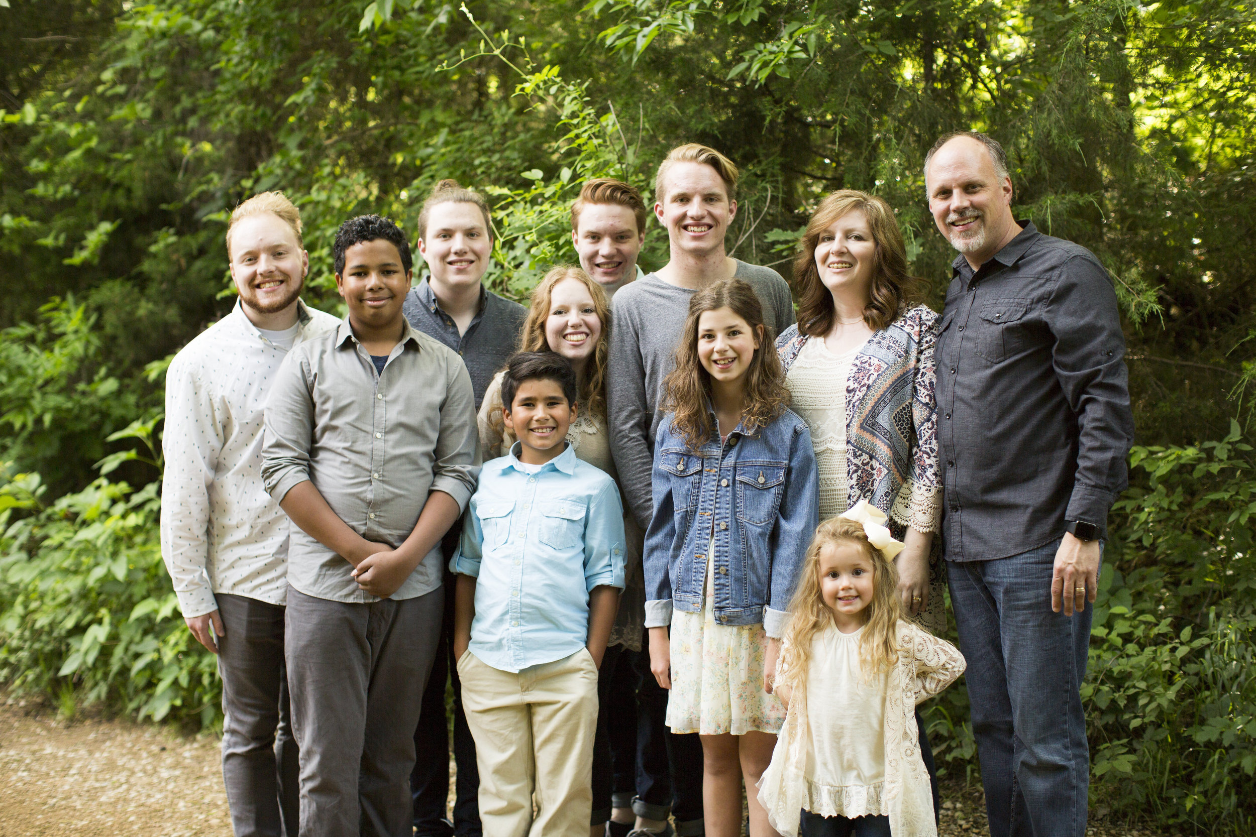 All about Family - Pastors Ricky and Joni Franklin enjoy their nine children. After having five biological children, they adopted four beautiful children through foster care. Now they share their love for family with everyone they meet.