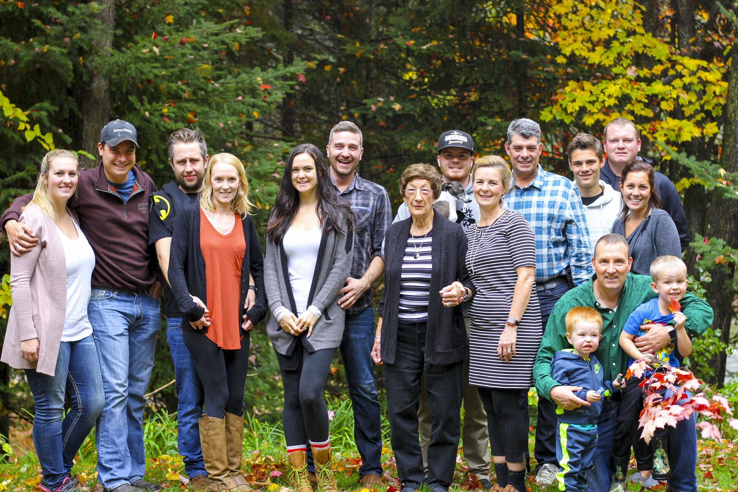 Family Event Photography Muskoka