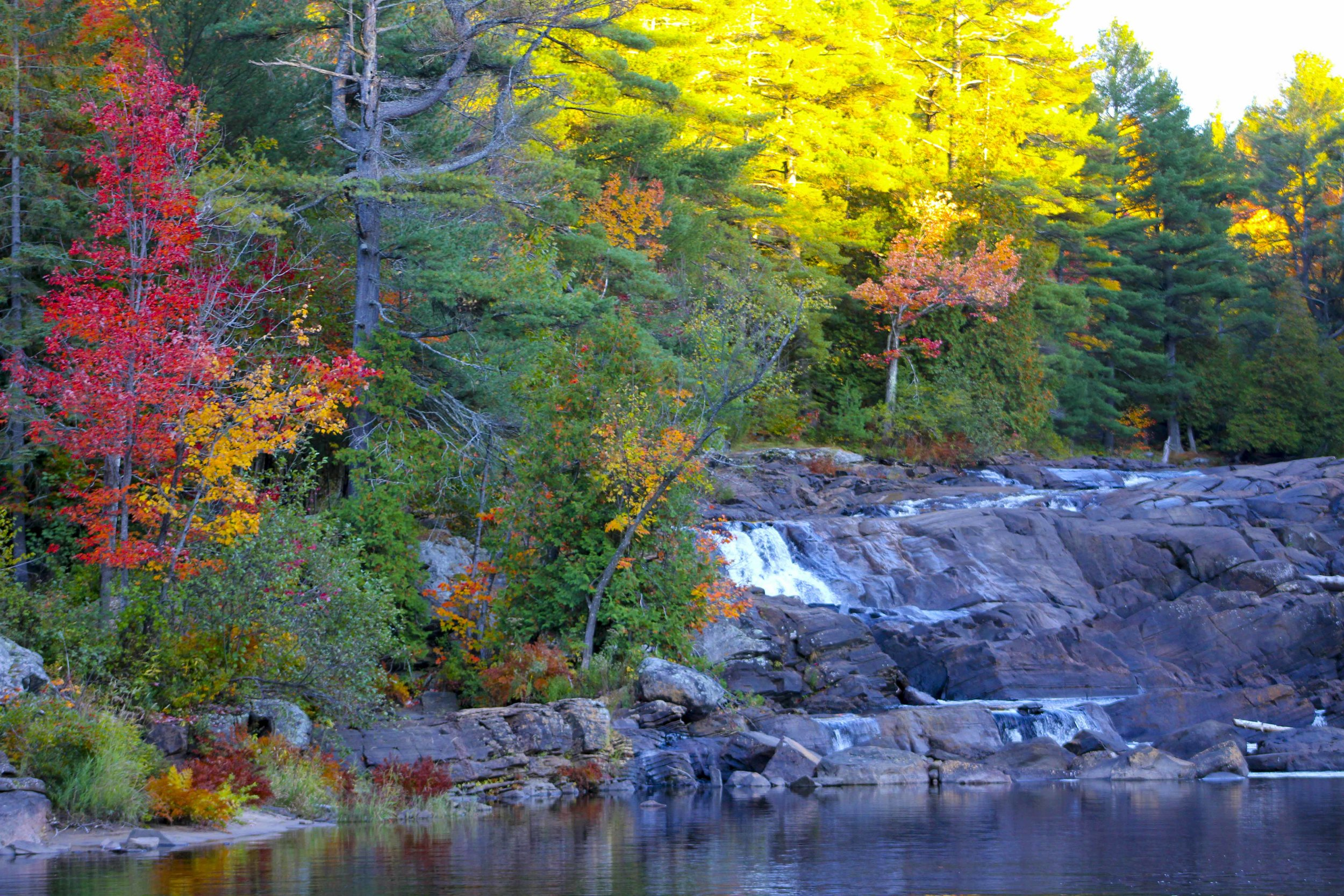 Waterfalls Muskoka