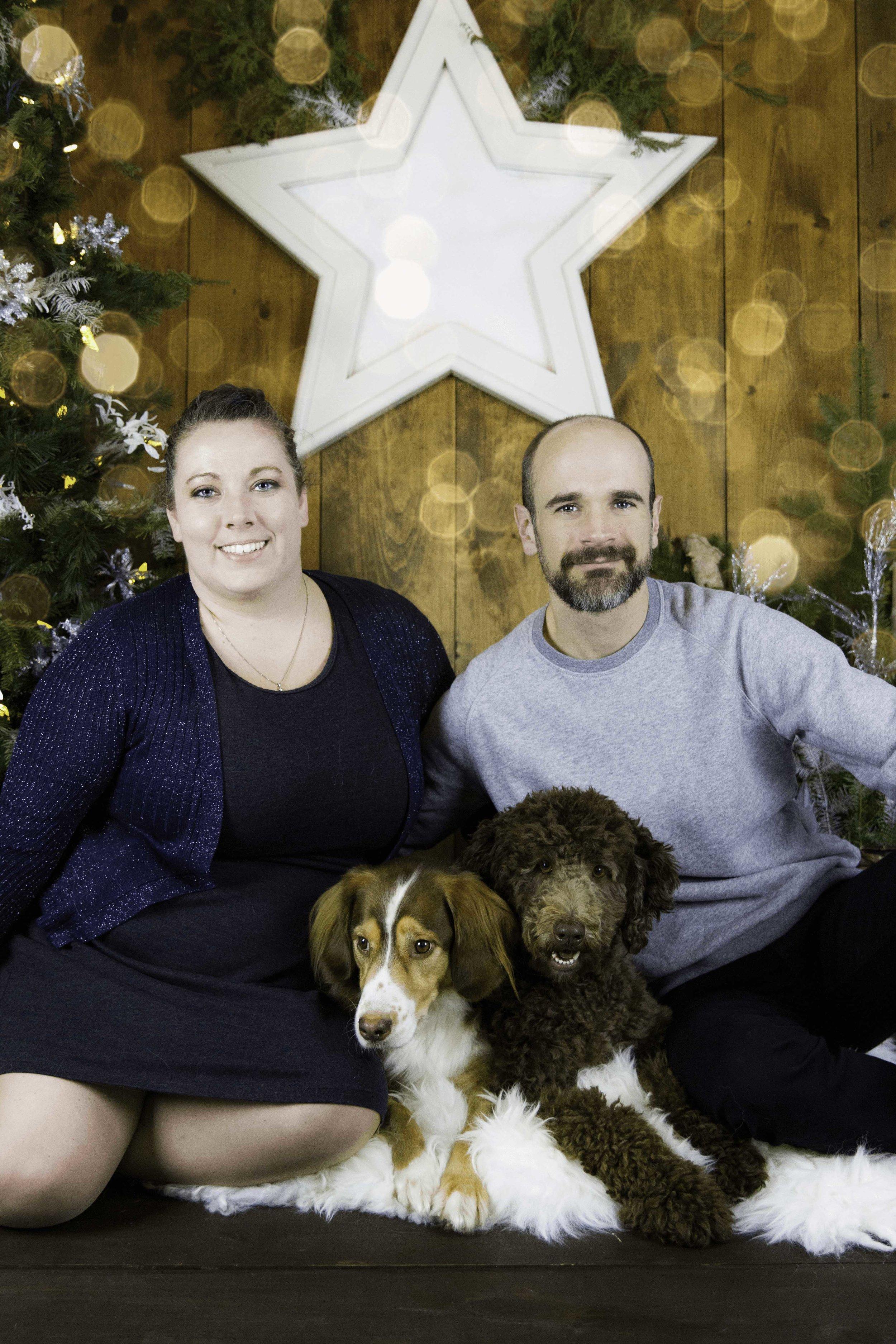 Nicole, Paul & Pups -
