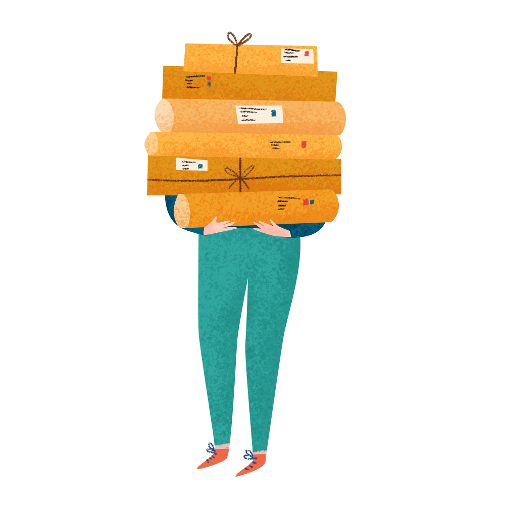 5. Package and ship your artwork
