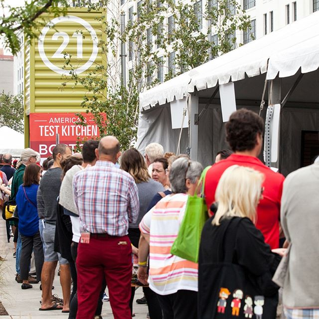 Did you know that America's Test Kitchen is a real 2,500-square-foot kitchen in Boston? Join us at our Boston headquarters for our EATS festival this October! Use the link in our bio for tickets!⁠ ⁠ #americastestkitchen #atkgrams #atkeats #eats #bostoneats #testkitchen #foodfestival #boston #bostonrestaurants⁠ ⁠