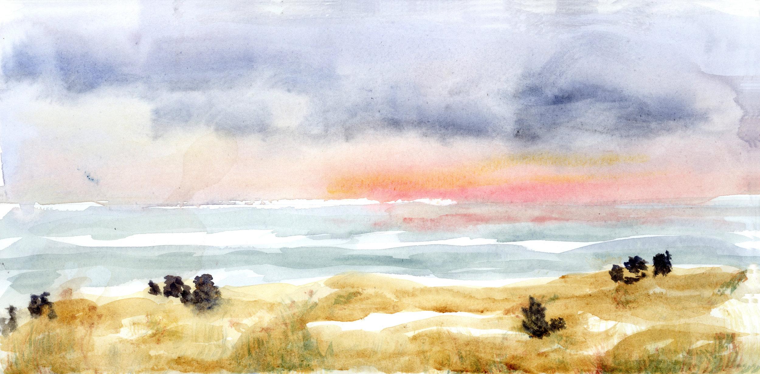 Watercolor by Anita Stephens