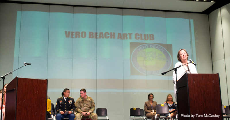 2017-2018 Vero Beach Art Club President Anne Malsbary