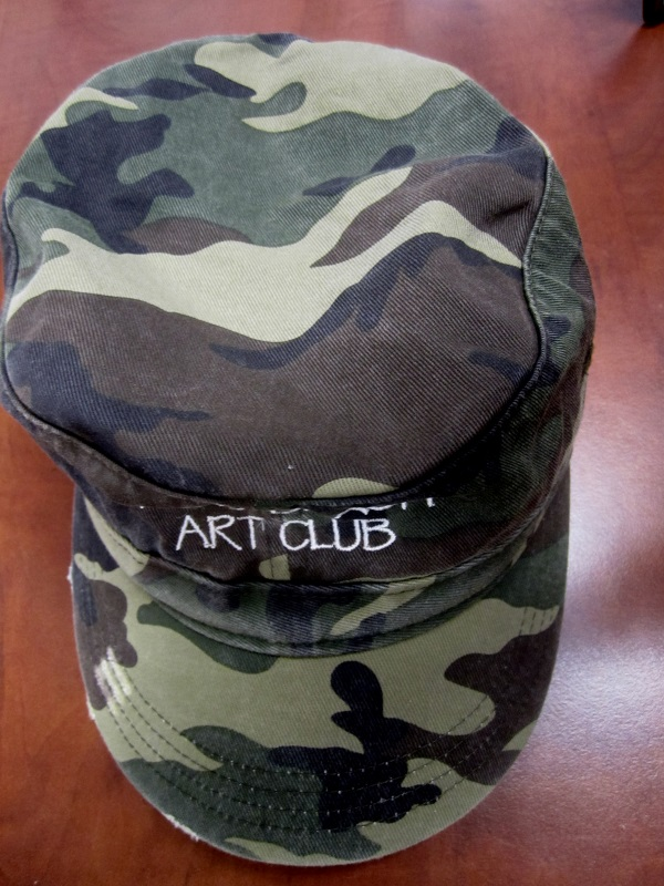 Distressed Military Hat in 5 colors including Camo