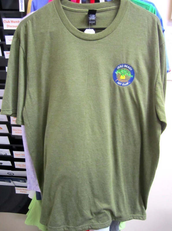 Our Tri-Crew Tee comes in 12 colors and is lightweight for those warm days here in Florida