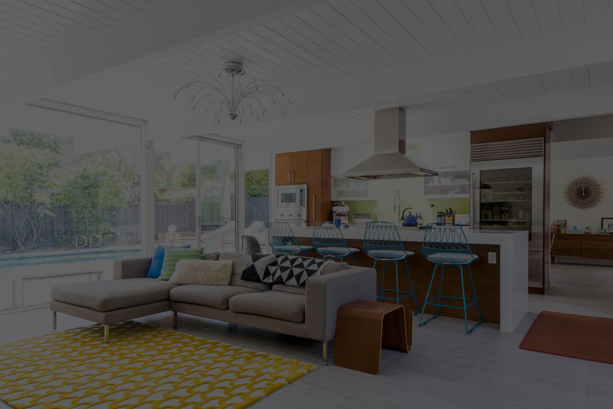 Dwell - An Interior Designer Launches Her Career by Renovating Her Family's Midcentury Eichler