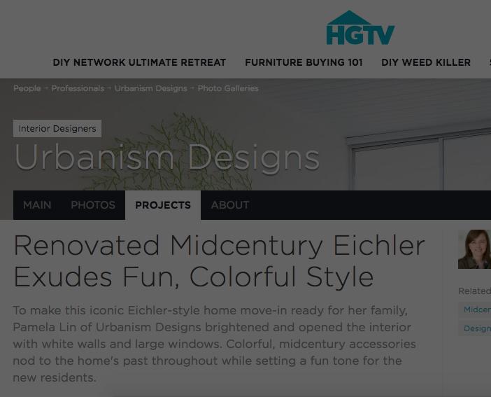 HGTV - Renovated Midcentury Eichler Exudes Fun, Colorful Style