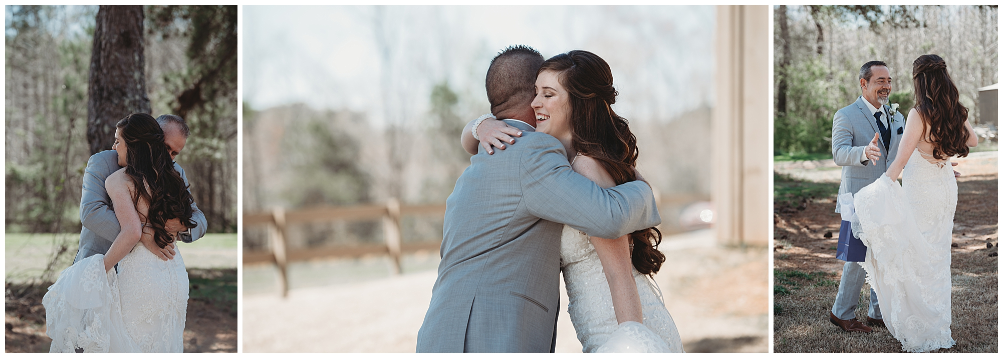 Oh, and did I mention Hanna had 3 daddy-daughter first looks… This couple has no shortage of people who love and support them, and they made sure everyone felt equally loved on their wedding day.