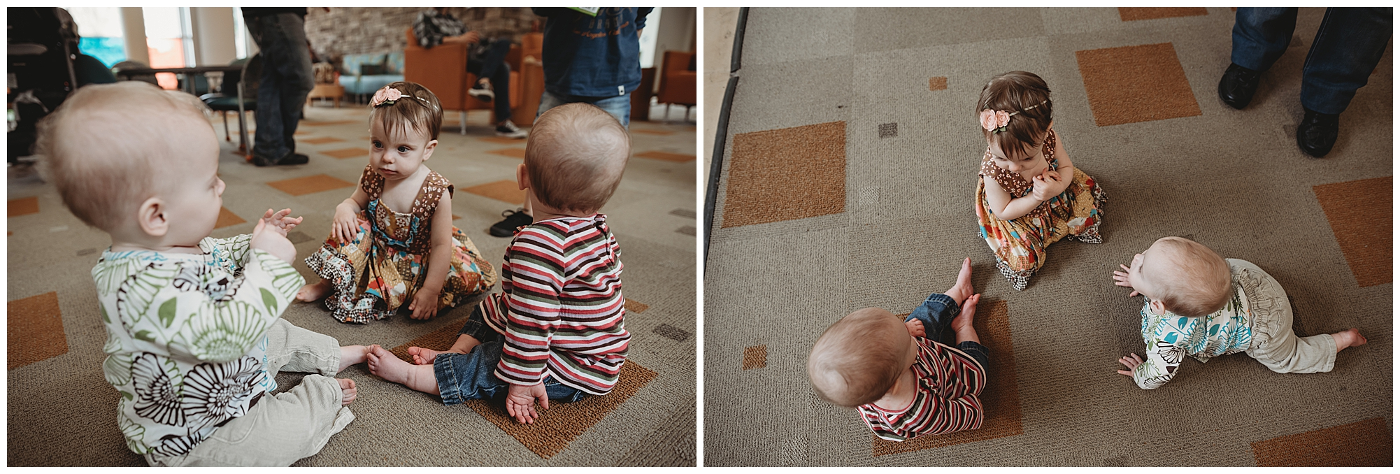 It was SO great to see some of the babies who were Willow's roommates during her NICU stay!
