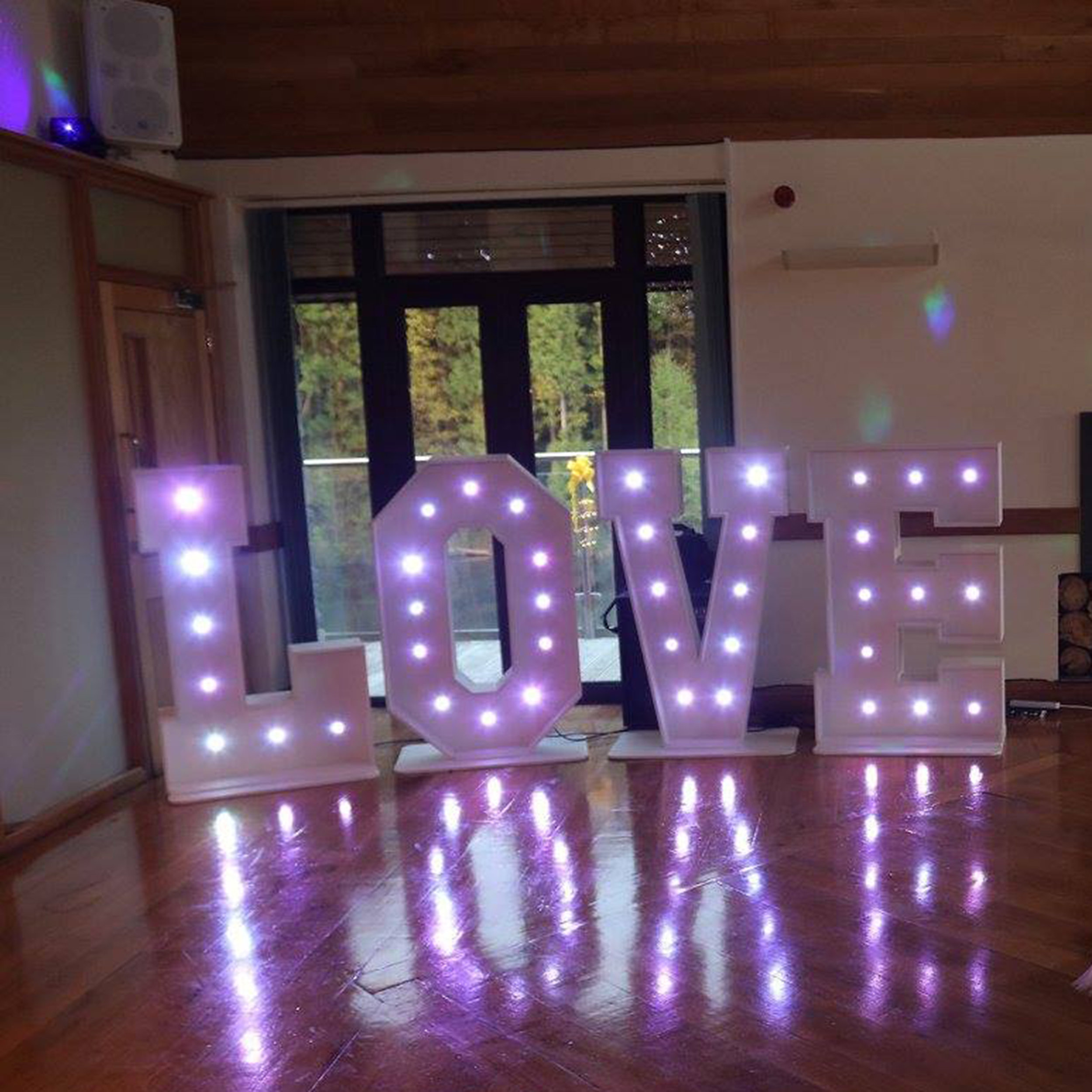 LED Love Letters -