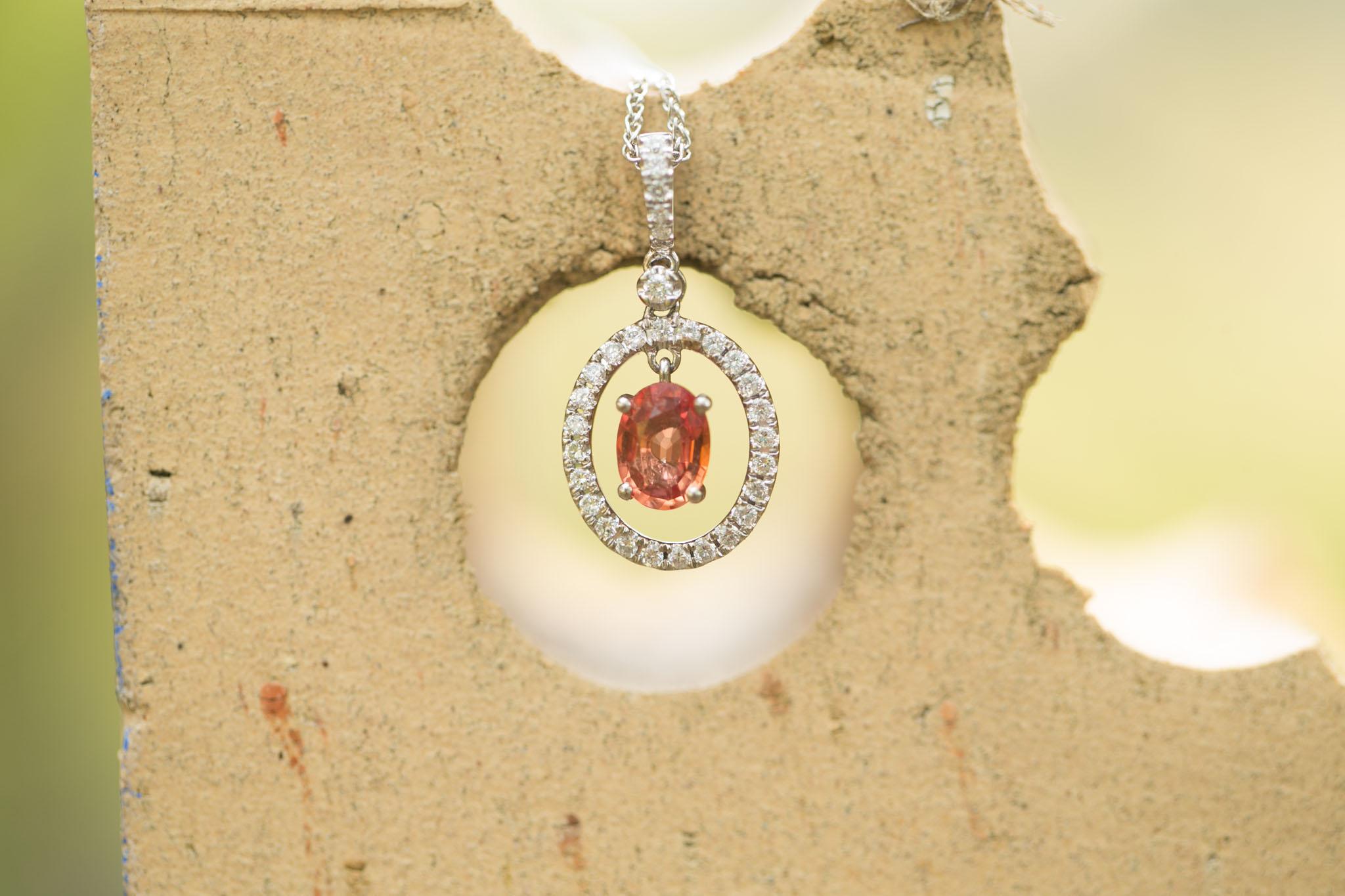 Montana Sapphire Necklace