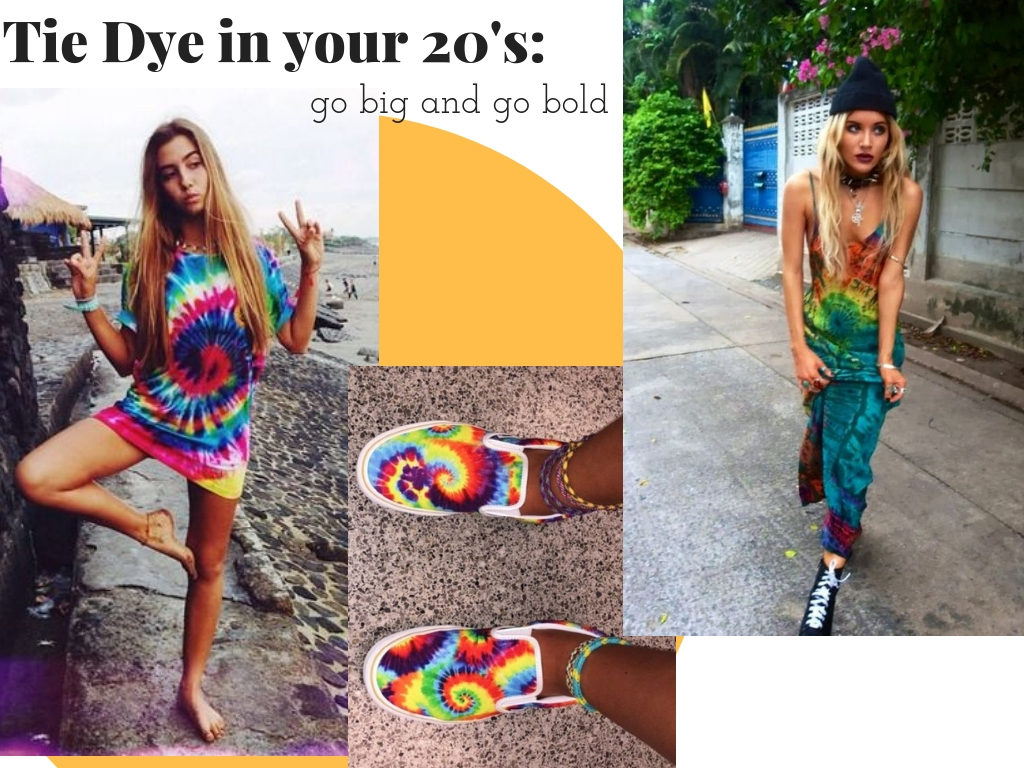 How to Wear Tie Dye in your 20s