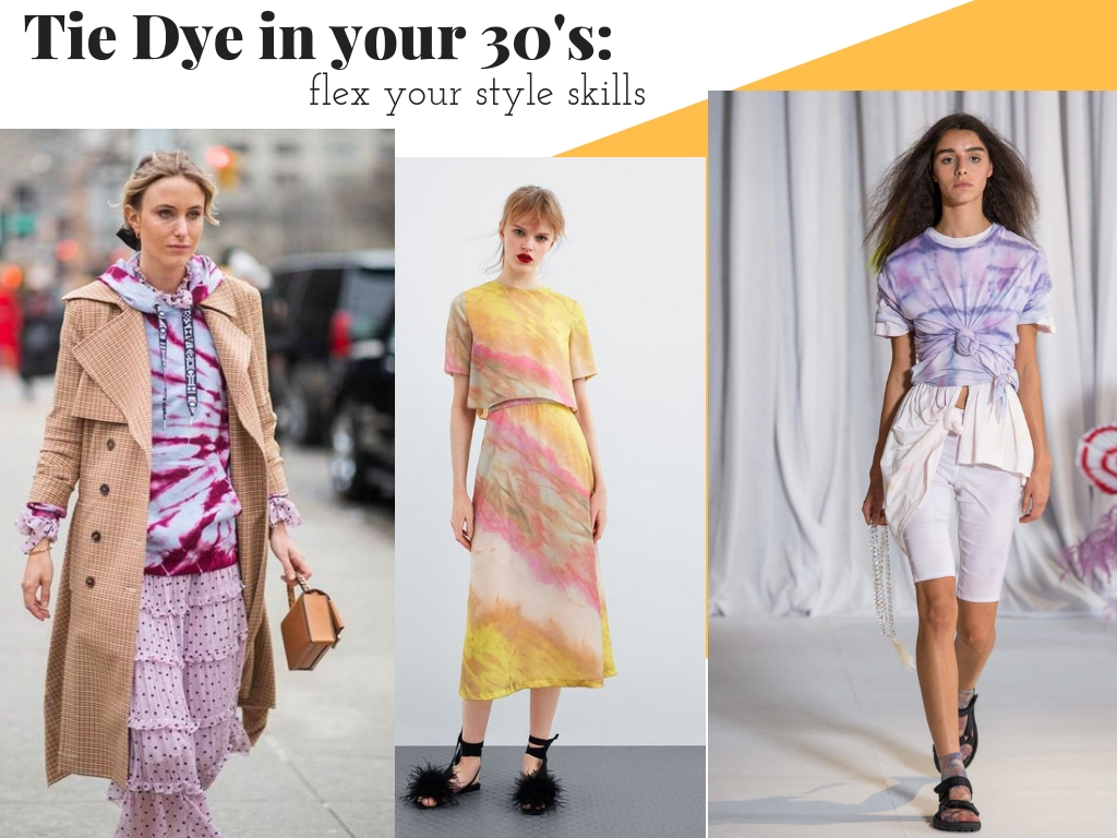 How to Wear Tie Dye in your 30s