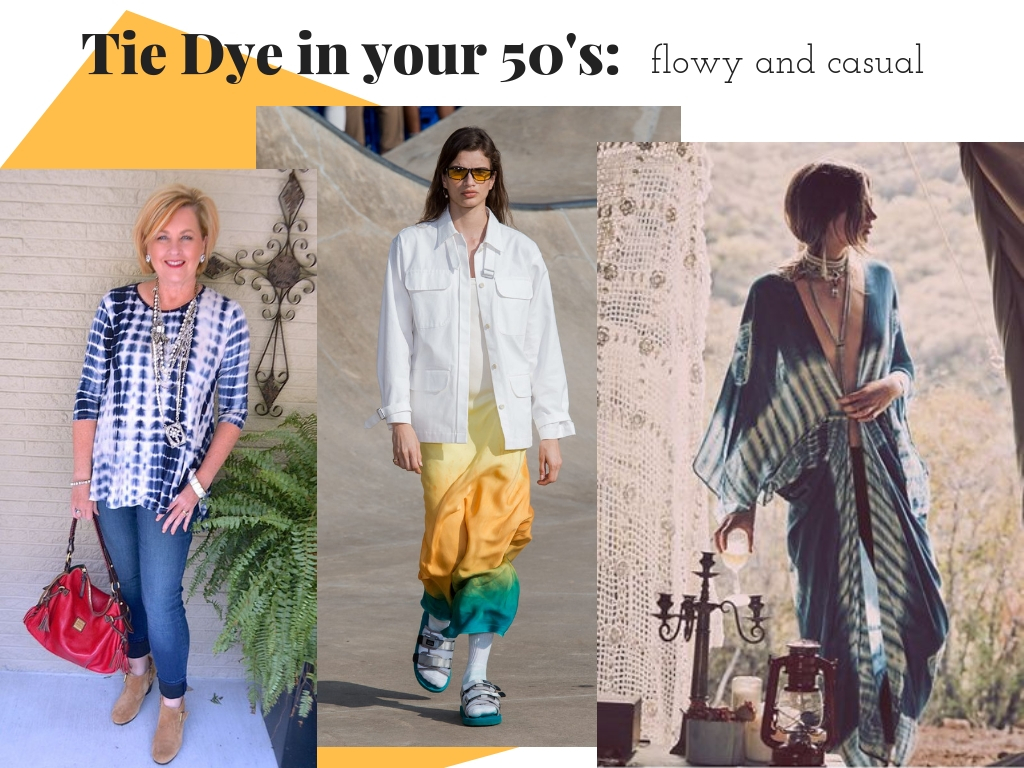 How to Wear Tie Dye at 50