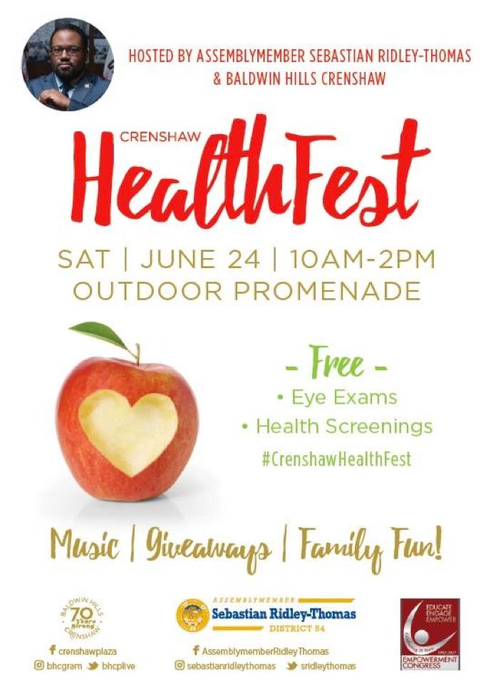 Copy of SRT Crenshaw Health Fest