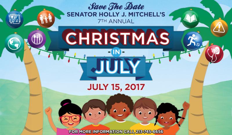 Christmas in July Senator Mitchell