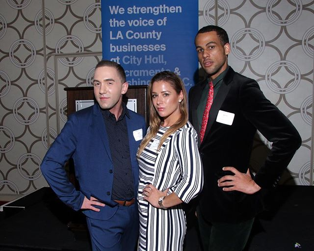 Enjoying the All Cities Holiday Reception last week with our friends and colleagues in LA. Thanks to #leagueofcaliforniacities #contractcities and #BizFed for hosting! 🌟🌲🎊 | photo by #HarveyBranman 😊